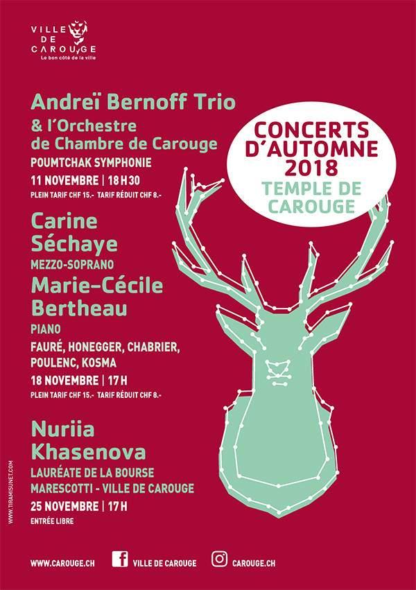 Concerts d'Automne 2018 - Nuriya Khasenova