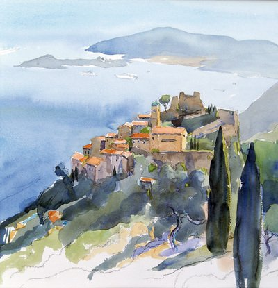 René Wyss, peinture