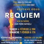 """Studio Théâtre Alexandre Païta présente Gustave Roud """"REQUIEM"""""""